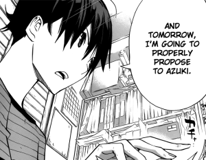 Bakuman c175: Release Date and the Night Before