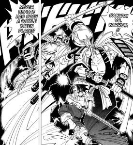 Shaman King c7: Chamán contra chamán