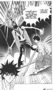 Rurouni Kenshin c121: Tira y Afloja en el Aoi-ya